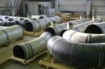 Отводы, тройники стальные сталь 09Г2С.