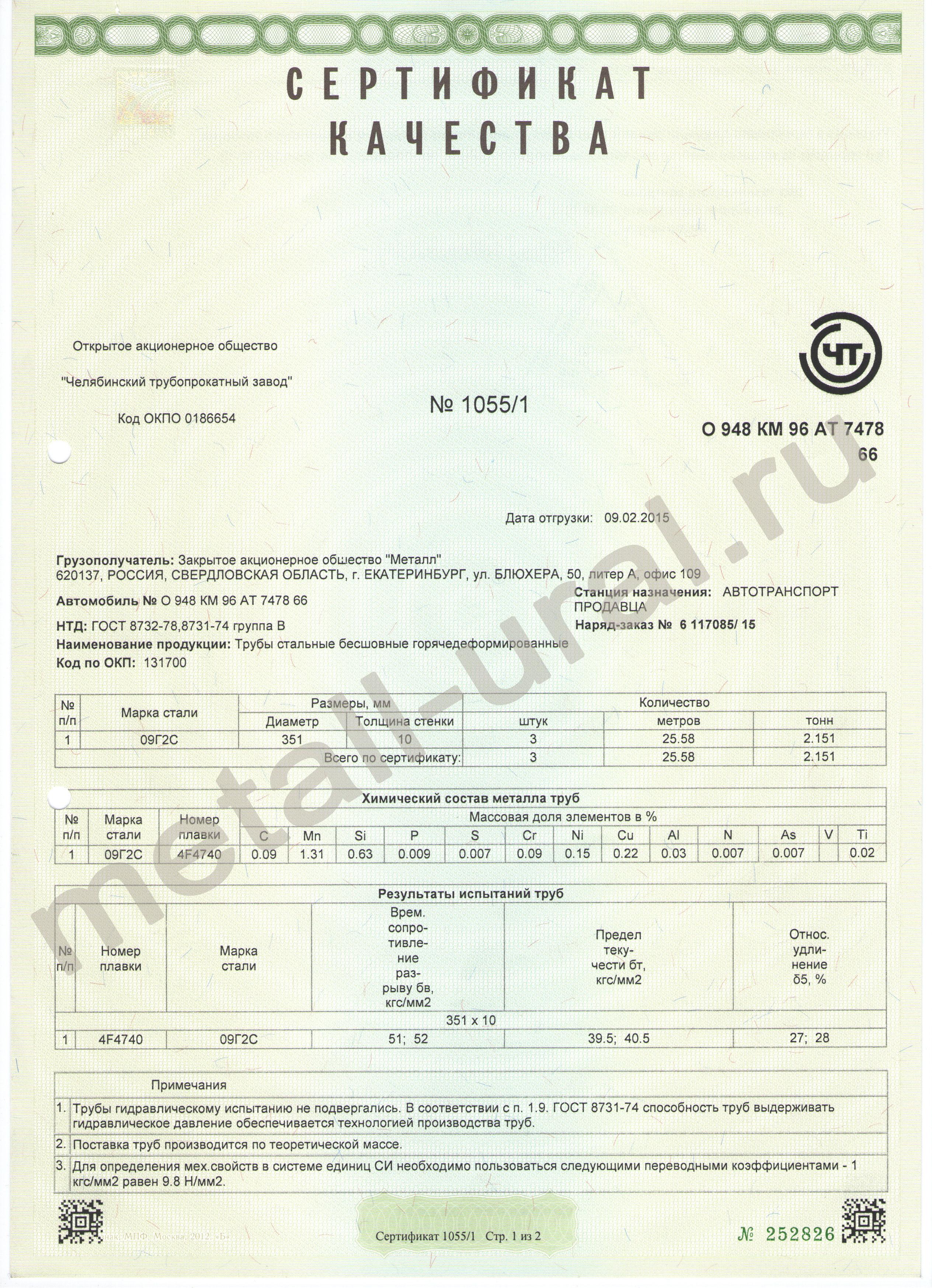 Труба 57 гост 8731-74 сертификат экологическая сертификация систем управления окружающей средой по исо 14000